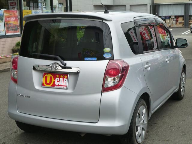 「トヨタ」「ラクティス」「ミニバン・ワンボックス」「静岡県」の中古車9
