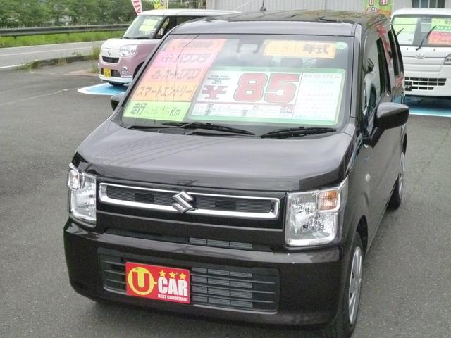 「スズキ」「ワゴンR」「コンパクトカー」「静岡県」の中古車2