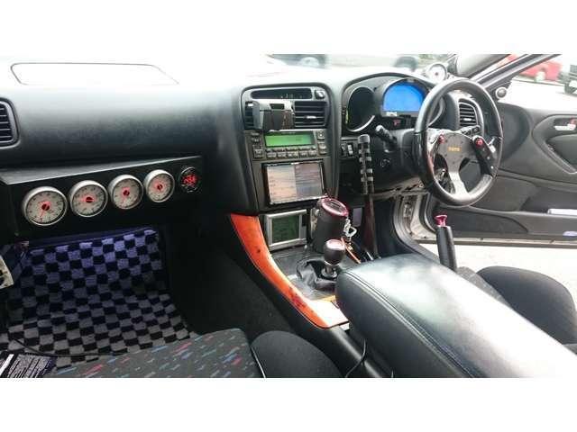 トヨタ アリスト V300 ゲトラグ6速 TRDフロントグリル HDDナビ