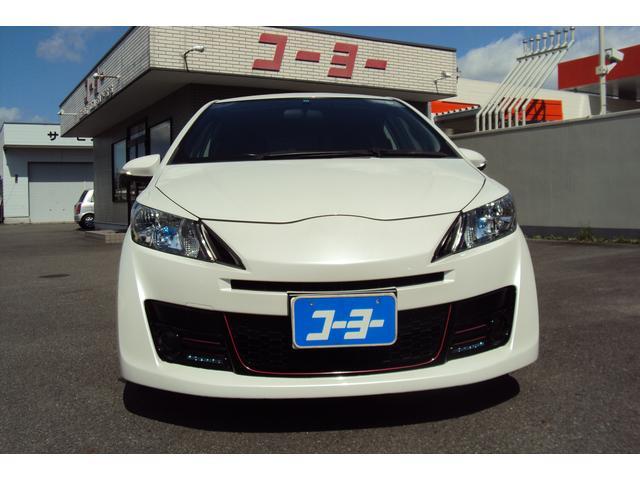 トヨタ ヴィッツ RS G's 社外マフラー ローダウン