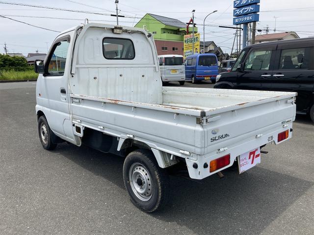 マニュアル車 軽トラック ETC ホワイト 車検令和4年(2022年)1月 修復歴無 ガソリン車 2人乗り(8枚目)