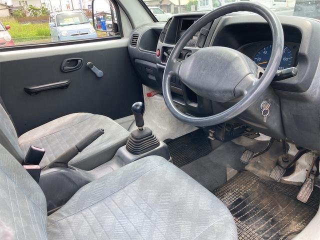 マニュアル車 軽トラック ETC ホワイト 車検令和4年(2022年)1月 修復歴無 ガソリン車 2人乗り(10枚目)