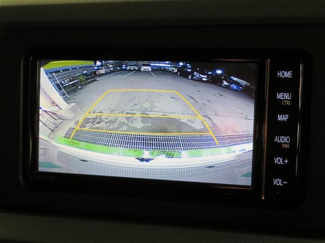 見づらい車両後方を確認できるバックモニターが付いています。