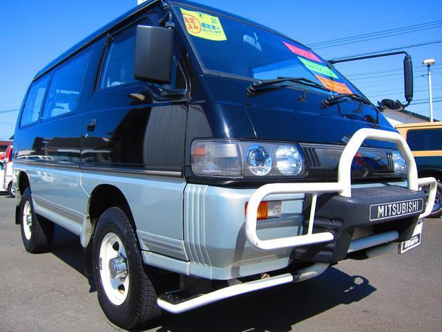 三菱 デリカスターワゴン GLX ワンオーナー ディーラー記録簿付