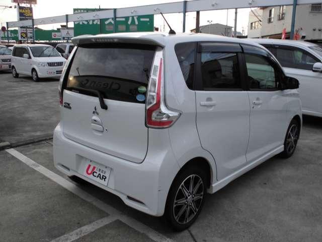 Tセーフティパッケージ 2WDターボ ワンセグナビ ETC シートヒーター HIDライト・・・三菱認定プレミアム保証対象車 車検整備付きになります。(7枚目)