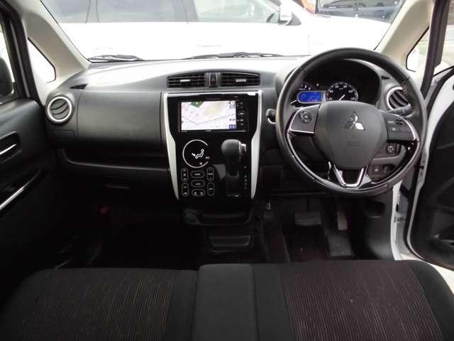 Tセーフティパッケージ 2WDターボ ワンセグナビ ETC シートヒーター HIDライト・・・三菱認定プレミアム保証対象車 車検整備付きになります。(12枚目)