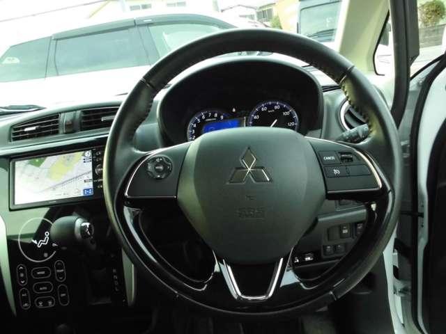 Tセーフティパッケージ 2WDターボ ワンセグナビ ETC シートヒーター HIDライト・・・三菱認定プレミアム保証対象車 車検整備付きになります。(13枚目)