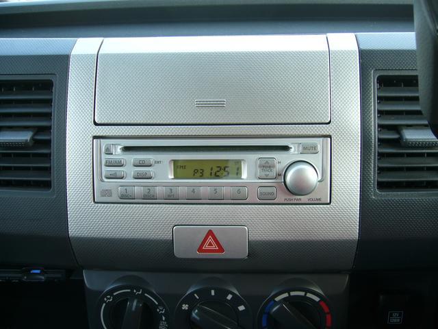 スズキ ワゴンR FX キーレス ETC 純正CDデッキ 社外13インチアルミ