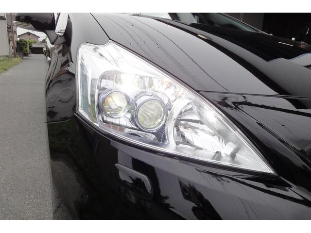トヨタ プリウスアルファ S 純正ナビTV LEDヘッドライト