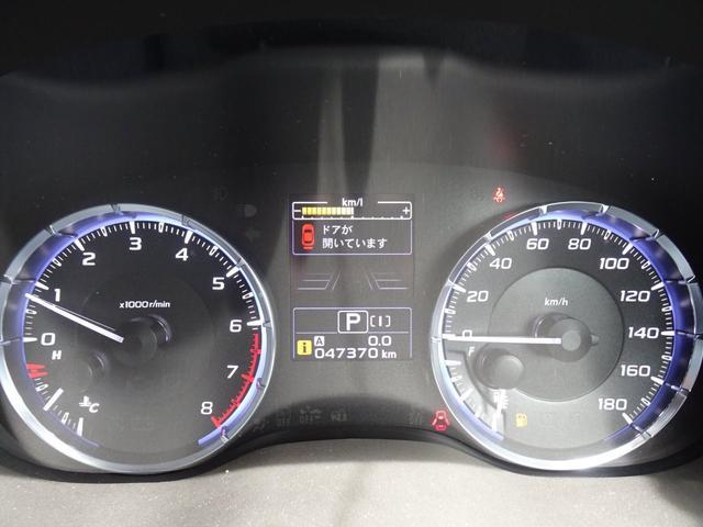1.6GTアイサイト Sスタイル アイサイトver3 純正SDフルセグナビ STiフロントリップスポイラー 純18インチアルミ アダクティブクルーズコントロール バックカメラ LEDヘッドライト ETC パドルシフト グー鑑定済み車(43枚目)