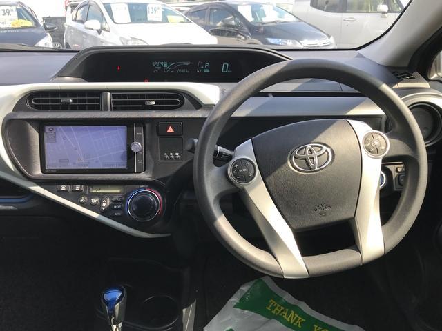 「トヨタ」「アクア」「コンパクトカー」「静岡県」の中古車25