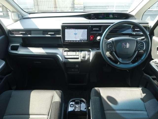スパーダハイブリッド G ホンダセンシング ナビ ETC 安全運転支援装置 Hondaセンシング ETC オートエアコン LEDヘッドライト ドライブレコーダ 両側電動スライドドア メモリーナビ バックカメラ(3枚目)