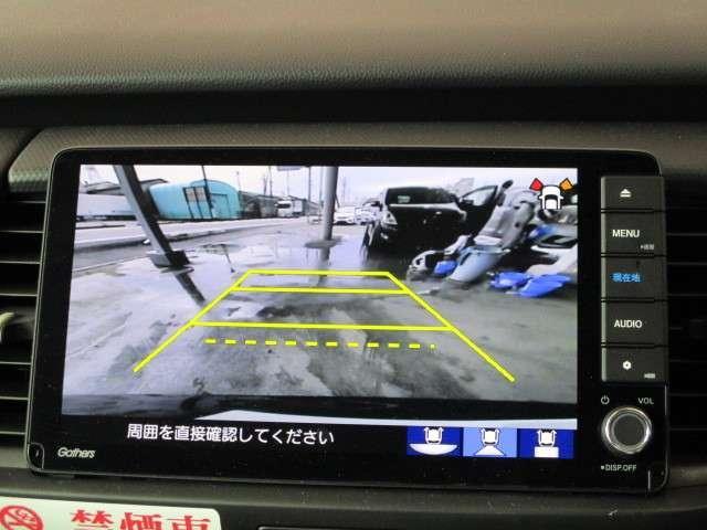 ベーシック 当社元レンタカー ホンダセンシング ギャザズナビ Bカメラ ETC フルセグ DVD CD録音 Bluetooth スマートキー ブレーキホールド ホンダコネクト対応 禁煙車 新車保証継承(13枚目)
