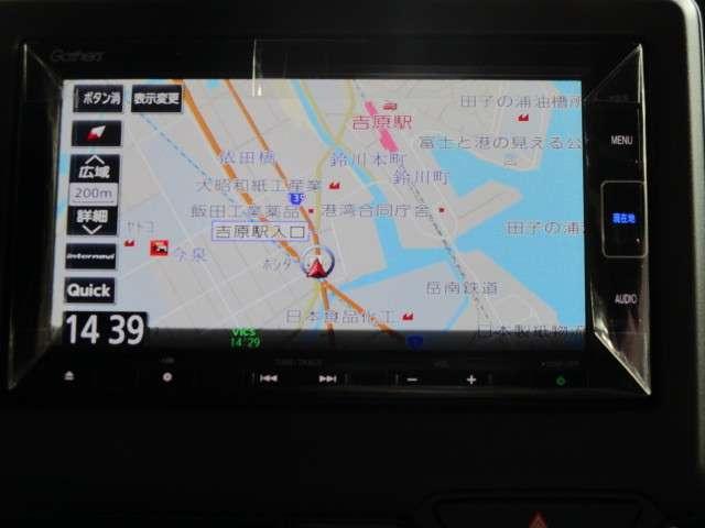 Lターボ MC後 元試乗車 ホンダセンシング ギャザズナビ Bカメラ ETC フルセグ DVD CD録音 Bluetooth リア席シートバックルテーブル リア席シェード 追突軽減ブレーキ 新車保証継承(2枚目)