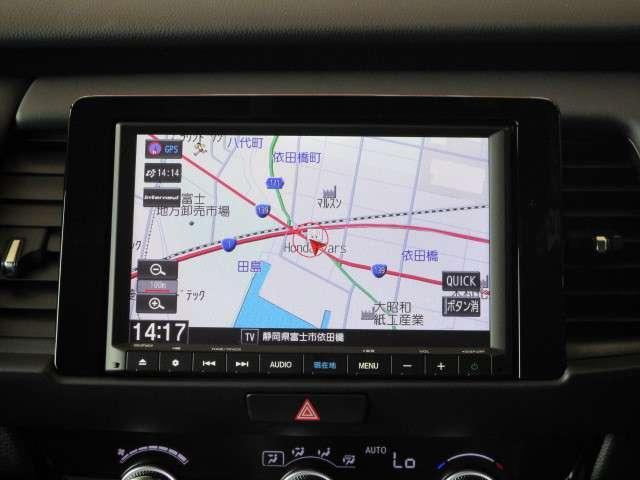 e:HEVホーム 元試乗車 ギャザズナビ Bカメラ フルセグ DVD再生 Bluetooth接続 LEDヘッドライト 追突軽減ブレーキ アダクティブクルーズコントロール ホンダコネクト 禁煙車 新車保証継承(4枚目)