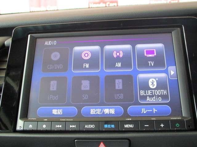 e:HEVホーム 元試乗車 ギャザズナビ Bカメラ フルセグ DVD再生 Bluetooth接続 LEDヘッドライト 追突軽減ブレーキ アダクティブクルーズコントロール ホンダコネクト 禁煙車 新車保証継承(6枚目)