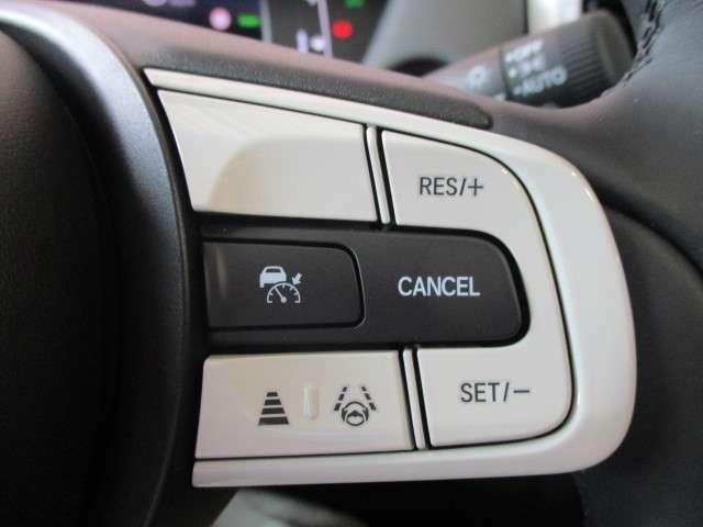 e:HEVホーム 元試乗車 ギャザズナビ Bカメラ フルセグ DVD再生 Bluetooth接続 LEDヘッドライト 追突軽減ブレーキ アダクティブクルーズコントロール ホンダコネクト 禁煙車 新車保証継承(11枚目)