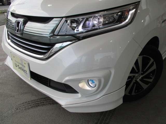 ハイブリッド・EX ギャザズ8インチナビ Bカメラ ETC フルセグ CD録音 Bluetooth LEDライト&フォグランプ 両側電動スライドドア シートヒーター サイドカーテンエアバッグ アルミホイール 禁煙車(18枚目)