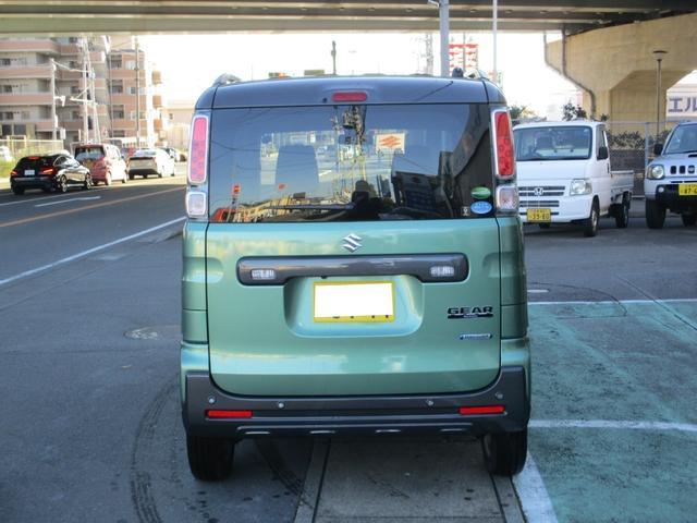 「スズキ」「スペーシアギア」「コンパクトカー」「静岡県」の中古車3