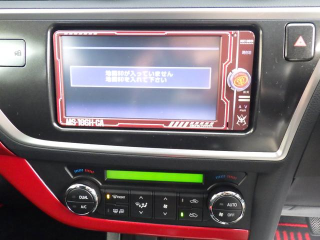 トヨタ オーリス 150X シャア専用 エアロ付き スマートエントリー
