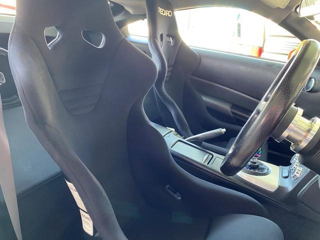 バージョンニスモ レカロシート アドバンレーシング18AW TEIN車高調 アミューズチタンマフラー トップシークレットカーボンボンネット キーレス(12枚目)