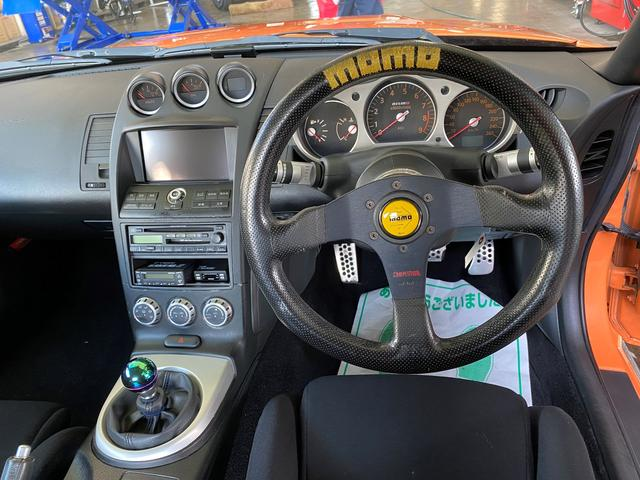 バージョンニスモ レカロシート アドバンレーシング18AW TEIN車高調 アミューズチタンマフラー トップシークレットカーボンボンネット キーレス(14枚目)