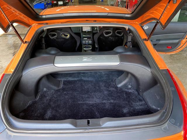 バージョンニスモ レカロシート アドバンレーシング18AW TEIN車高調 アミューズチタンマフラー トップシークレットカーボンボンネット キーレス(23枚目)