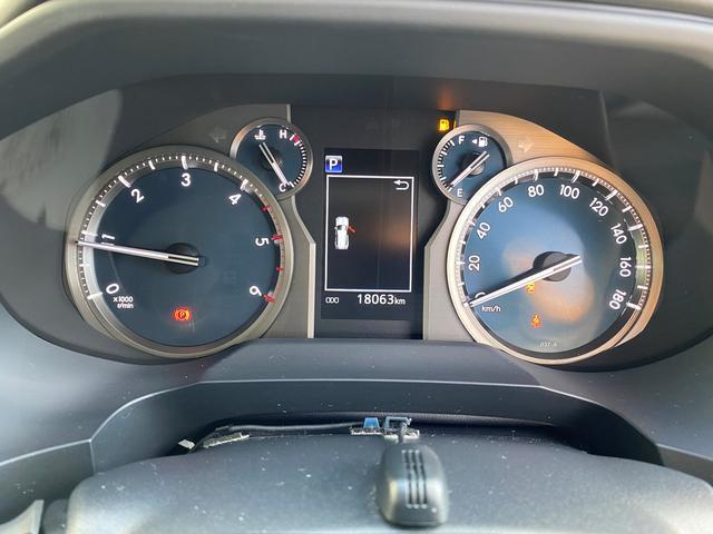 TX モデリスタエアロ シルバールーフレール トヨタ純正9インチナビ トヨタセーフティーセンス ディーゼル 7人乗り(14枚目)