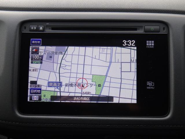 ホンダ ヴェゼル ハイブリッドX メーカー装着HDDナビ フルセグTV ETC