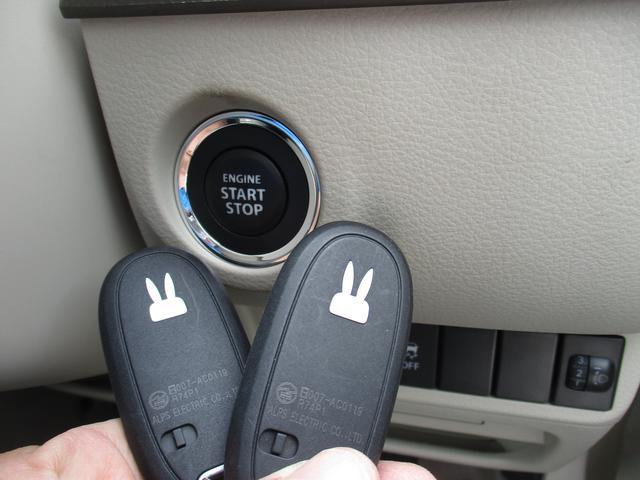 ウサギイリ携帯リモコンが車内にあれば鍵を刺さずにエンジンのオン、オフできます。