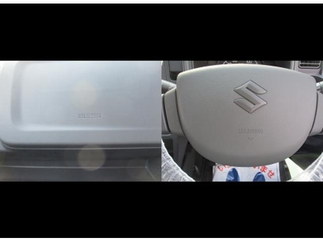 運転席、助手席SRSエアバッグ付。