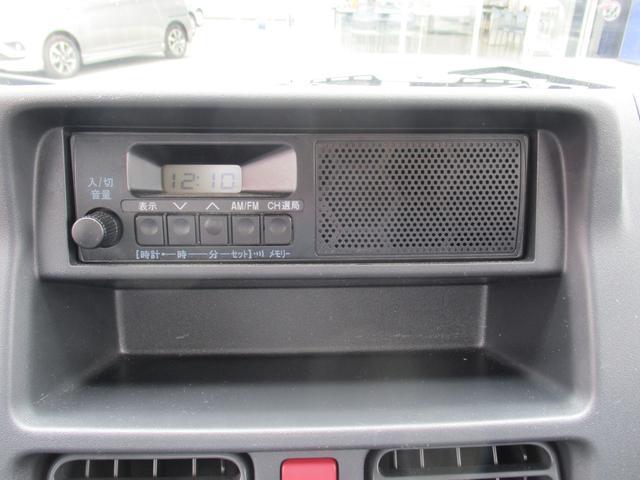 AM/FMラジオ付。