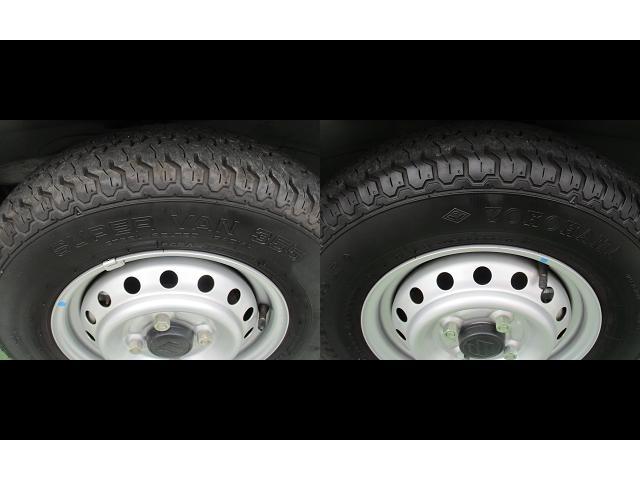 タイヤ山あります。タイヤサイズは145/80R12