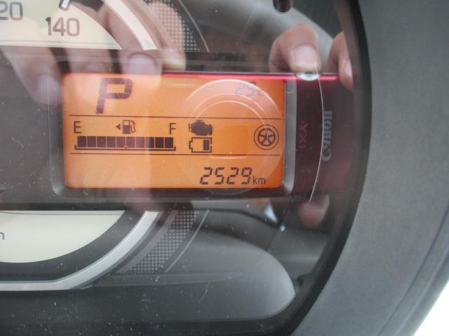 インフォメーションディスプレイで燃費など測れます。