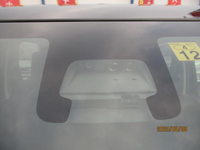 デュアルセンサーブレーキサポート。ついでにIRカット機能のフロントガラスです。