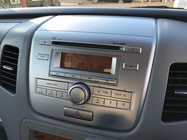 スズキ ワゴンR FXリミテッドII キーフリー 純正CDオーディオ