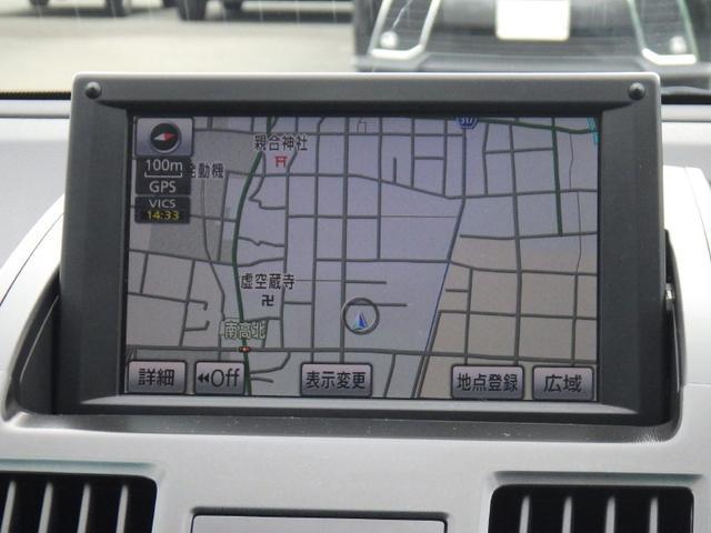 トヨタ SAI S ツーリングセレクション メーカー装着HDDナビ ETC