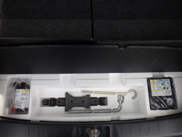 車載工具もしっかり装備しています。