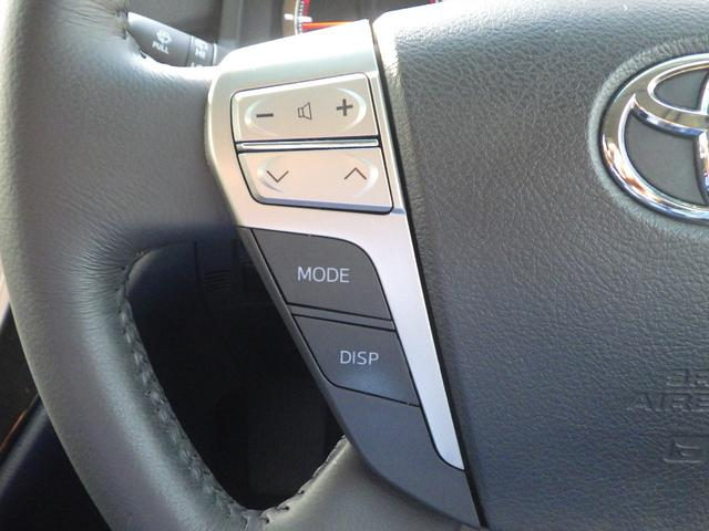 ステアリングスイッチ付きですよ! オーディオ操作時にハンドルから手を離さなくていいから、安全ですね♪