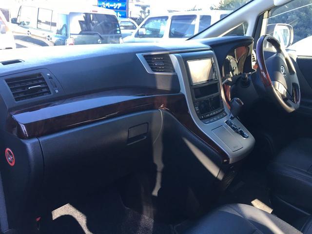 トヨタ ヴェルファイア 2.4Z 8人乗 フリップダウンモニター