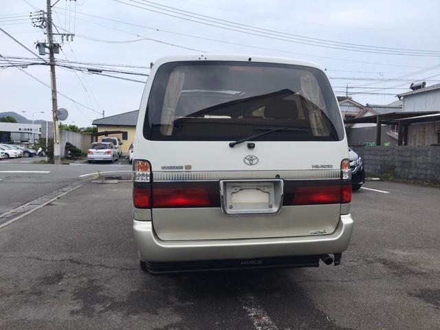 「トヨタ」「ハイエース」「ミニバン・ワンボックス」「静岡県」の中古車6