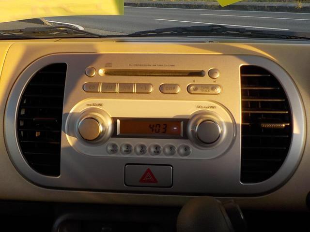 日産 モコ S インテリキー CD
