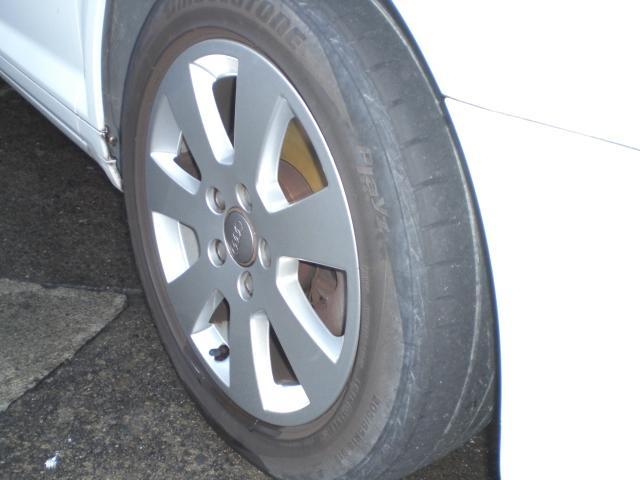 車検時新品タイヤ交換