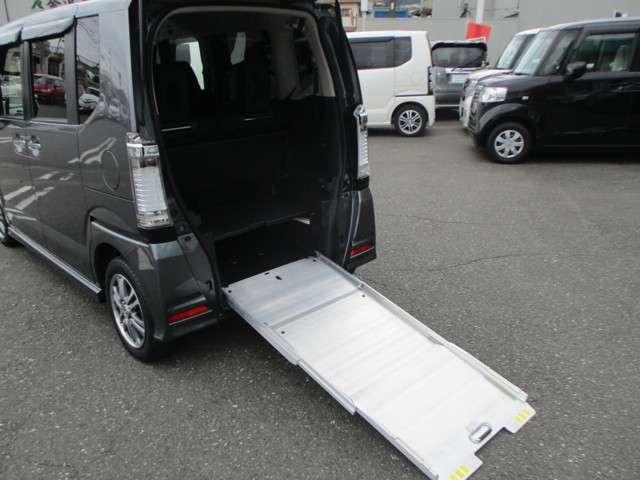 車椅子仕様 スロープ 電動ウインチ