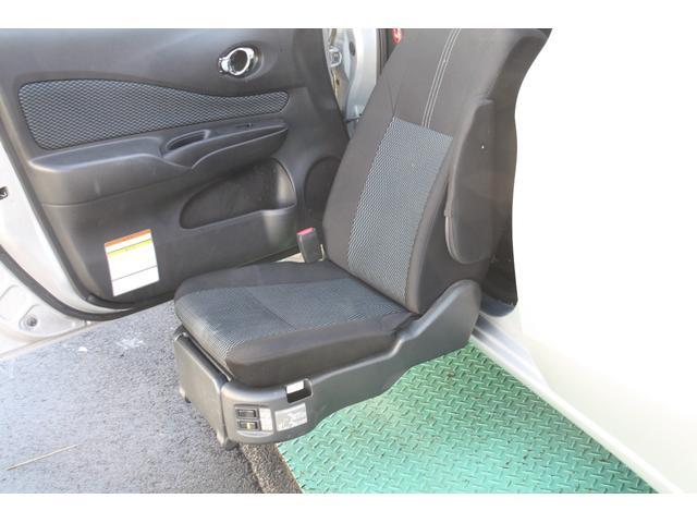 日産 ノート X アンシャンテ 福祉車両 助手席電動回転シート ナビ付き