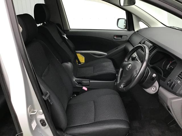 プラタナ ウェルキャブ リフトアップシート装着車 バックカメラ 両側スライド左側電動 革巻ステアリング ナビ付 ウォークスルー 電格ウインカーミラー 3列シート オートライト(17枚目)