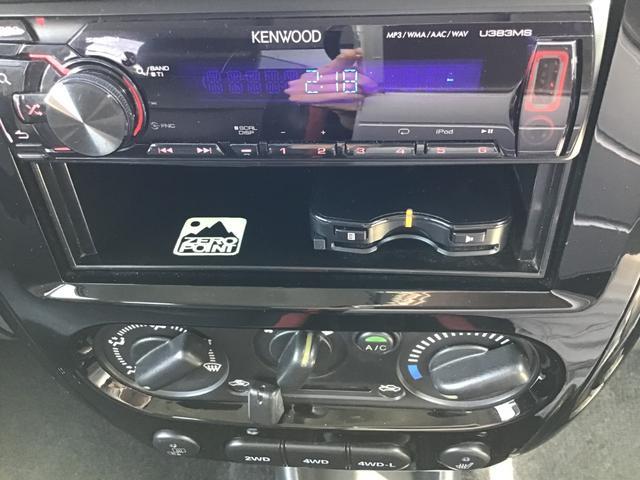 クロスアドベンチャー 4WD 5MT ETC シートヒーター キーレス フォグ 革巻きステアリング 電格ウインカーミラー ブラックカブロンソフトシート(23枚目)