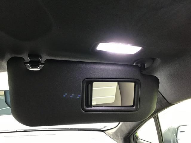 バニティーミラーサンバイザー(LEDライト付)
