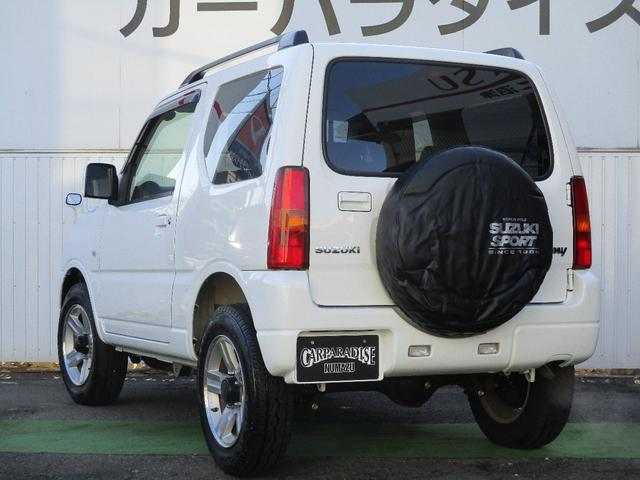 XC キーレスエントリー 2WD 4WD 4WD-L切替 フォグランプ バイザー フロアマット 電格ミラー スペアタイヤ アルミホイール コインケース オートパワーウィンドウ CD AM FMラジオ(4枚目)