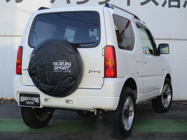 XC キーレスエントリー 2WD 4WD 4WD-L切替 フォグランプ バイザー フロアマット 電格ミラー スペアタイヤ アルミホイール コインケース オートパワーウィンドウ CD AM FMラジオ(6枚目)